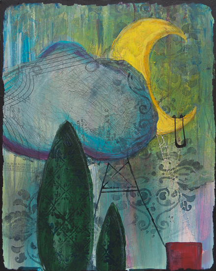 art prints - Take Me to the Moon by Deanna Varble