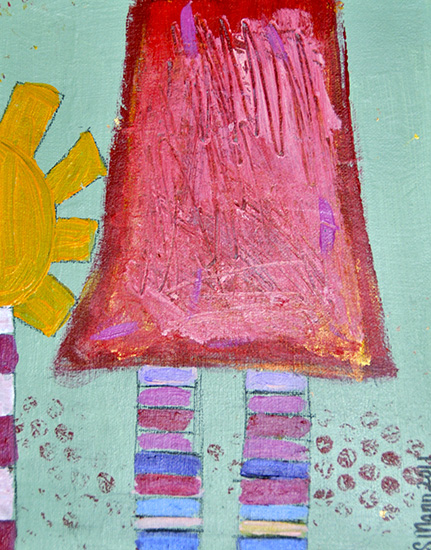 art prints - Striped Socks by susie mann
