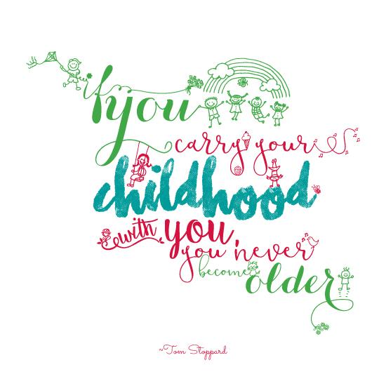 art prints - Childhood by Pooja Thacker