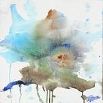 Watercolor Abstract by Collin X. Craig