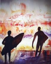 Morning Wonder by Ellen Evanow Watercolors