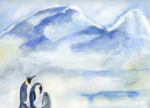 Family Matters by Ellen Evanow Watercolors