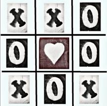 Tic-Tac-Toe Love by Deborah McClain