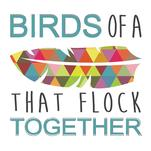 Birds Flock Together by Heather Weaver