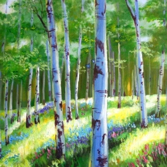 art prints - Butterfly Forest by Noelle
