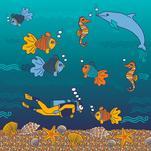 Ocean Diver by Tati Vitsic