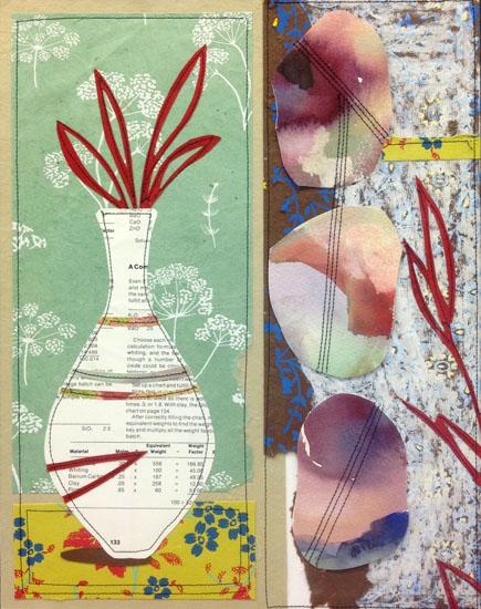 art prints - Red Blooms by Hannah Burnworth