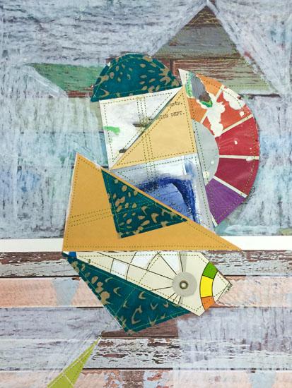 art prints - Color Wheel Chop by Hannah Burnworth