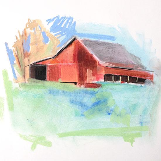 art prints - Farm Life by Sarah Nobles