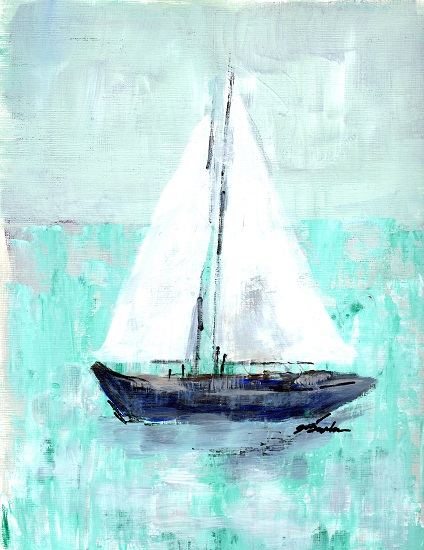 art prints - Sail With Me by Jena Burkman