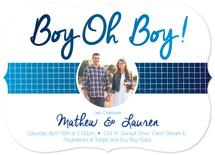 Baby Boy Reveal by Erica Burton