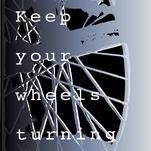 Wheels turning by Carmelina Faraci