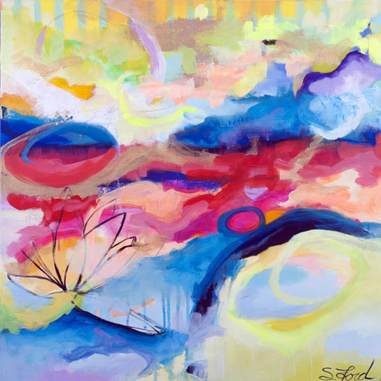 art prints - Feeling Free by Suze Ford