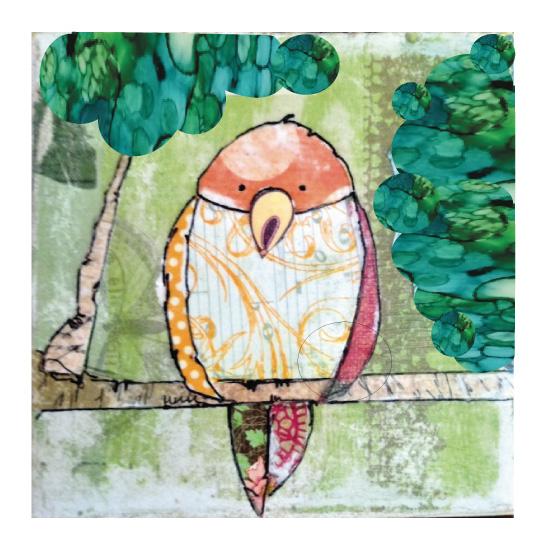 art prints - Kiwi Paco Birdy by YakiArtist