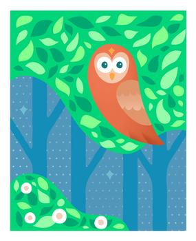 Bright Eyed Owl