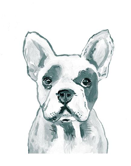 art prints - Hey Mr. Dog by Makewells