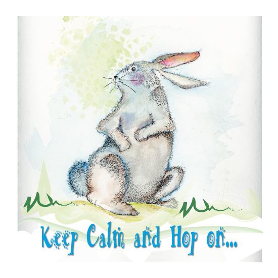 art prints - Trix The Rabbit by YakiArtist