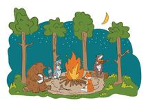 Around the Campfire by Lisa Weber