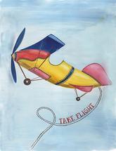 Vintage Airplane Takes... by Lauren Haule