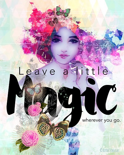 art prints - A Little Magic by Therese Tucker