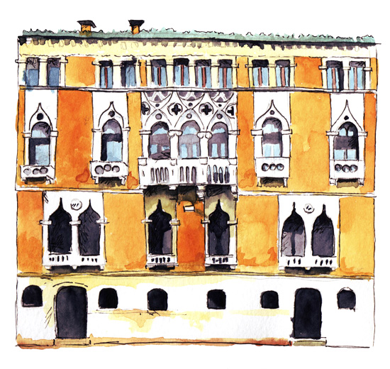 art prints - Venice building by Marina Eiro