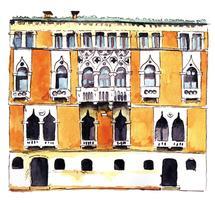 Venice building by Marina Eiro