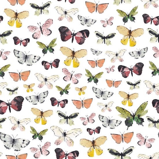 art prints - Butterflies pattern II by Marina Eiro