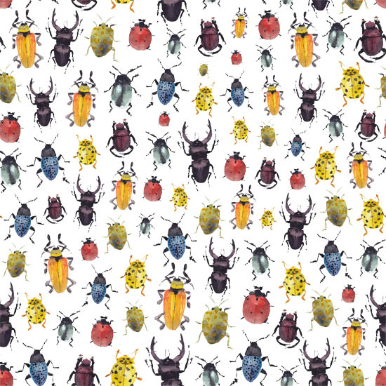 art prints - Bug´s pattern by Marina Eiro