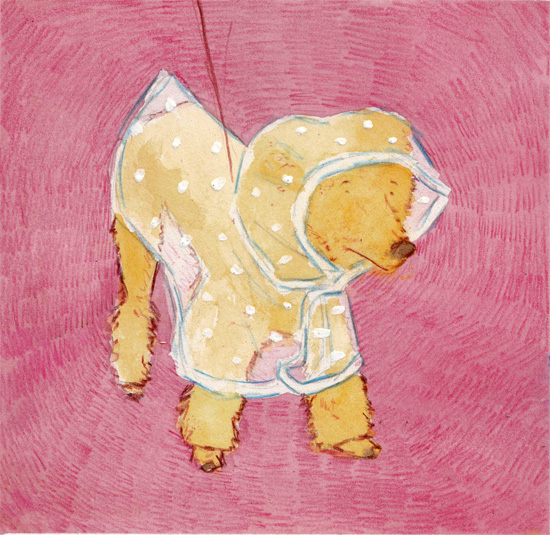 art prints - Pinkie dog by Marina Eiro