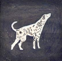 dog and star by Marina Eiro