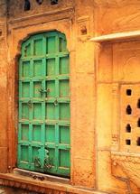 Jaisalmer Doorway by Wendy Risch
