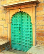 Jaipur Doorway by Wendy Risch
