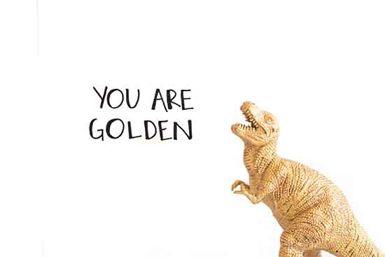 art prints - You Are Golden by Stefani Ashley
