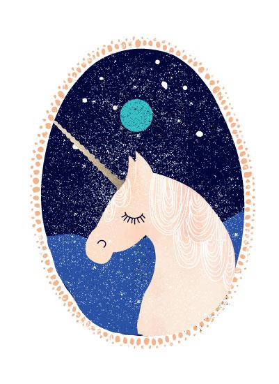 art prints - Unicorn Dreams by Hannah Williams