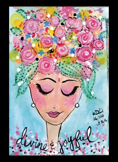 art prints - Joyful & Divine by Kajal Dhabalia