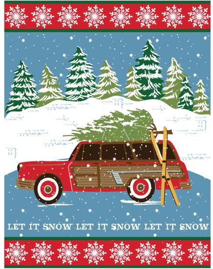 art prints - christmas traditions by Sharon Lee