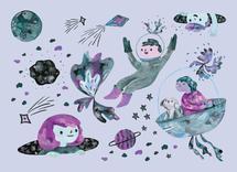 Cosmic Voyage by Eliane Mancera