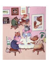 Piggie Cafe by Elaine Strocher
