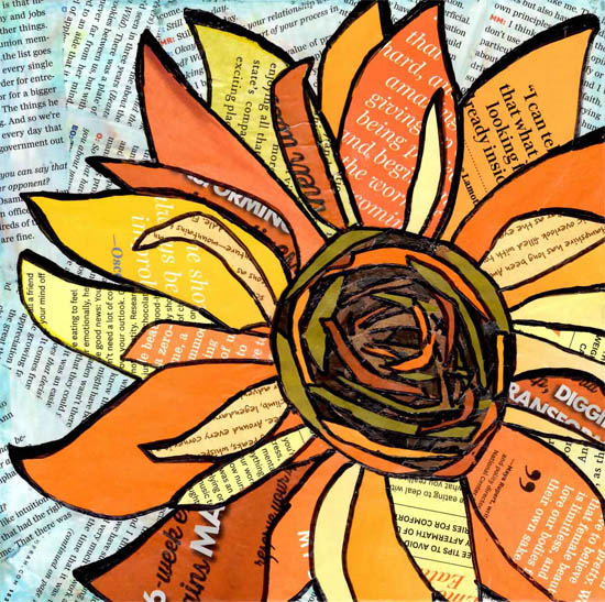 art prints - Sunflower by Kim Dettmer