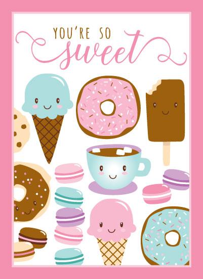 art prints - You're So Sweet by Sandy Miranda