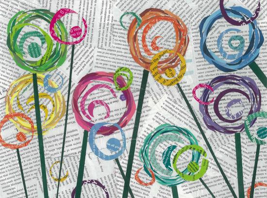 art prints - Circle Pops by Kim Dettmer
