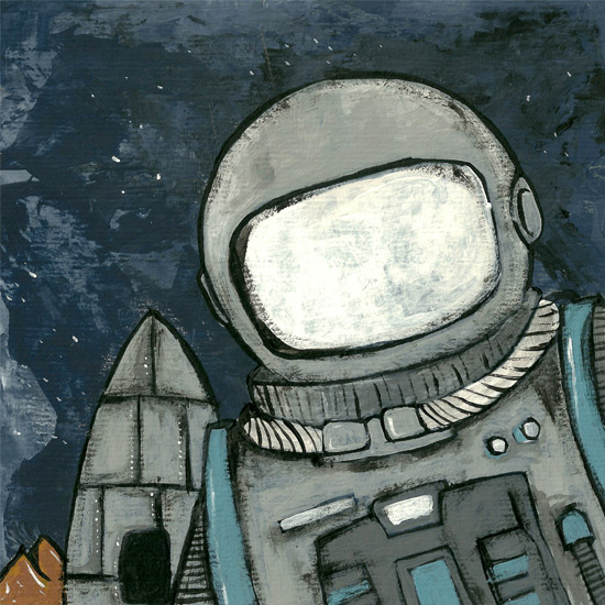 art prints - Astronaut by Patrick Laurent