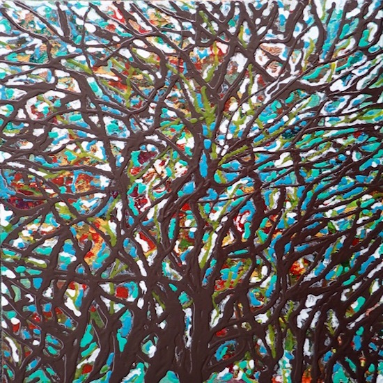 art prints - tangled colour by Korenna Corby