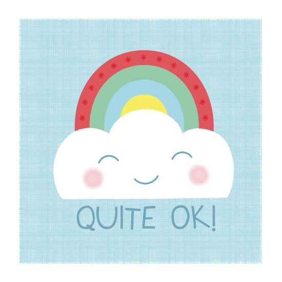 art prints - Quite OK! by Studio2Art