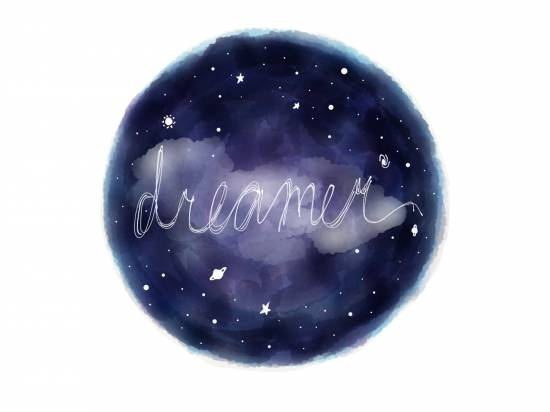art prints - dreamer of space by Amber Li