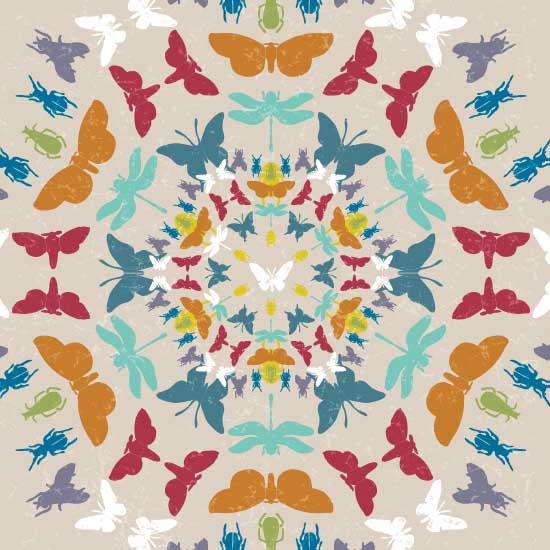 art prints - Bug Parade by ATstudio