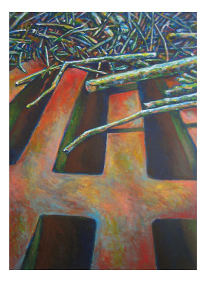 art prints - Sticks and Grate by Mandy Wilson
