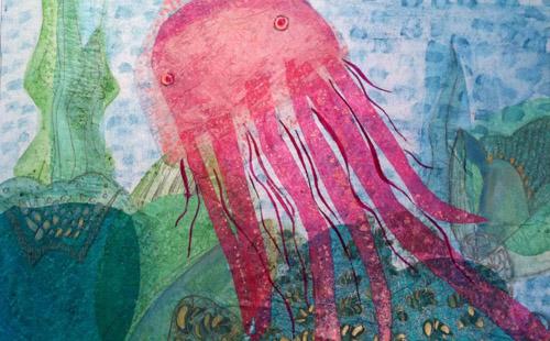 art prints - Jelly Away by Kerry Valenzuela