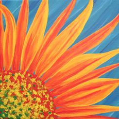 Sunny Flower Rising