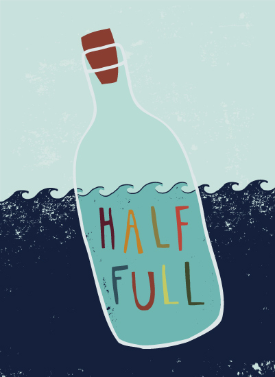 art prints - Half Full by Rachel Gresham